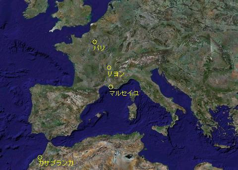 クリックするGoogle地図を表示
